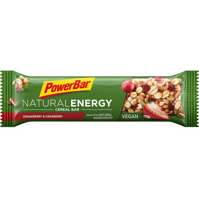 PowerBar Natural Energy Cereal Bar Urheiluravinto Strawberry-Cranberry 24 x 40g